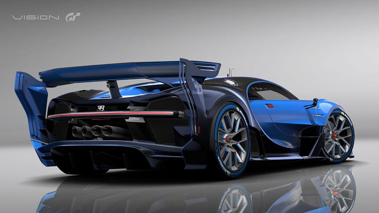Bugatti Vision Gt >> El Bugatti Vision Gran Turismo Es Un Proyecto Tan Realista