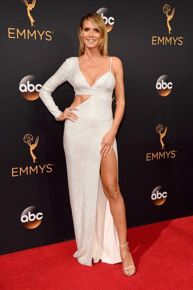 Emmy Awards 2016: Die Tops und Flops vom roten Teppich   Heidi klum ...