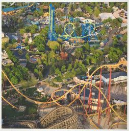 Six Flags Great America Gurnee Lake County Illinois The Art Institute Of Chicago Great America Six Flags Places To Go