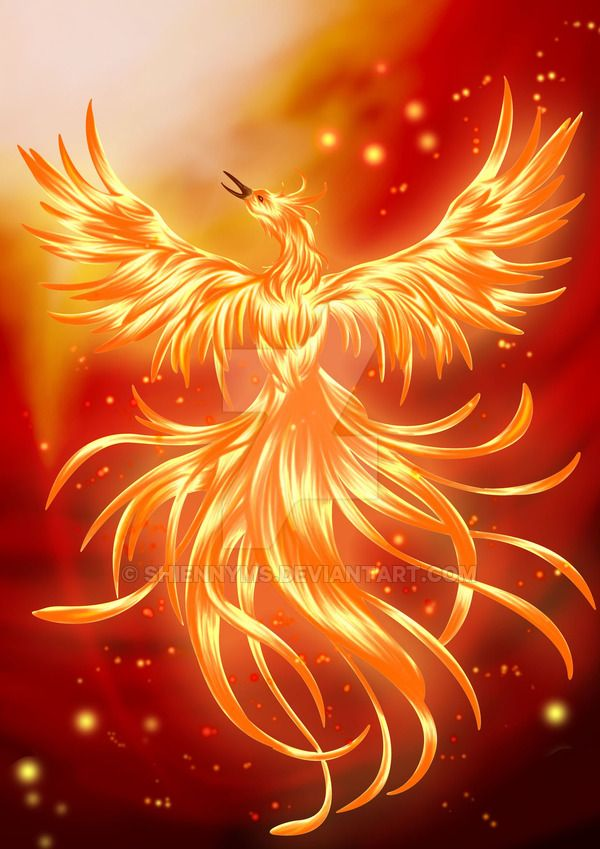 Ther Melian: Firebird by shiennyms on DeviantArt