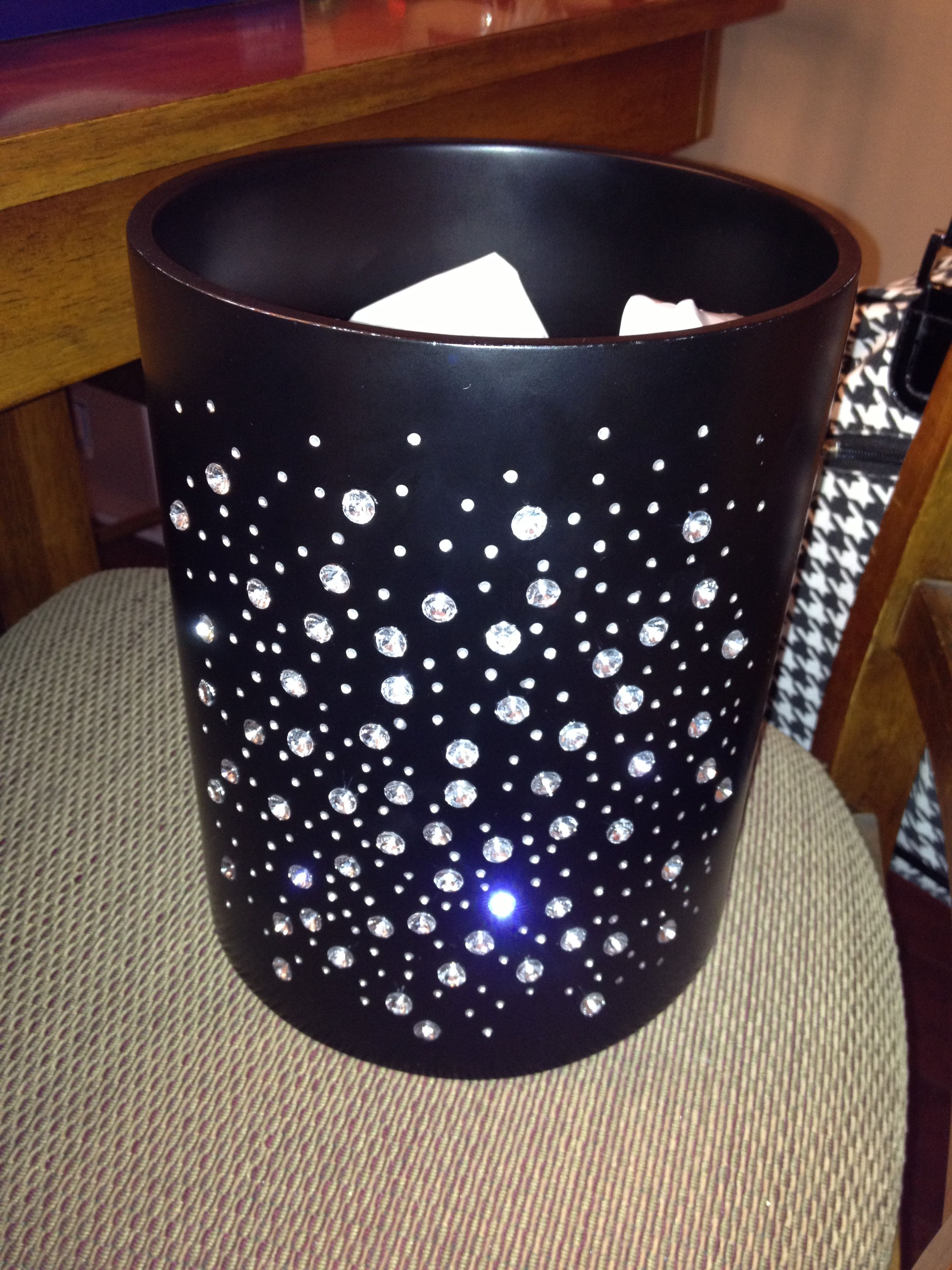 Bed Bath & Beyond Bling Trash Can