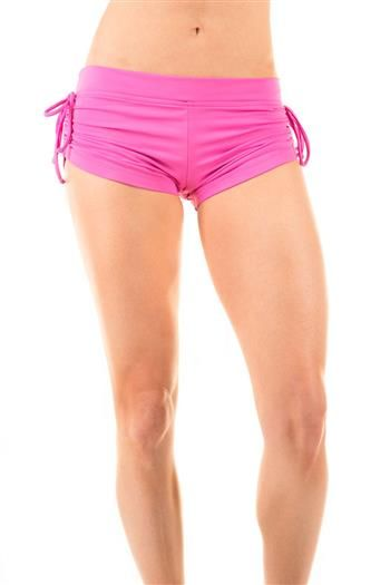 9cd065f818e2d String Along Pink Yoga Shorts by Hot Drop Apparel. You don't mean to ...
