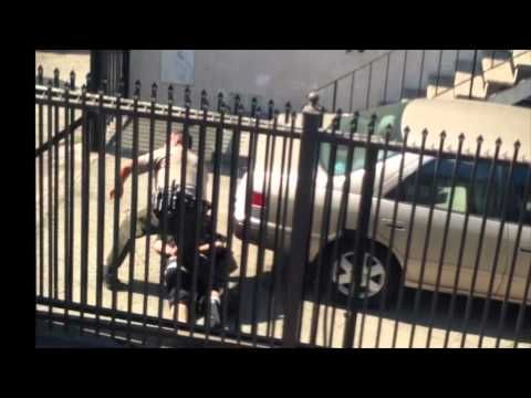 """""""I'm Gonna Kill You Bitch"""" – Insane Cop Shoots Fellow Cop Before He Murders Unarmed Man 