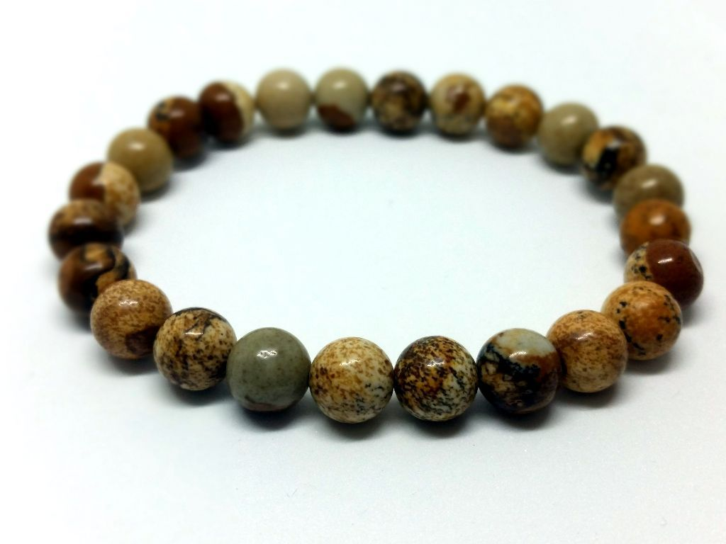 8c03a69e0f Képjáspis ásvány karkötő | Mata beads | Beaded bracelets, Jewelry és ...