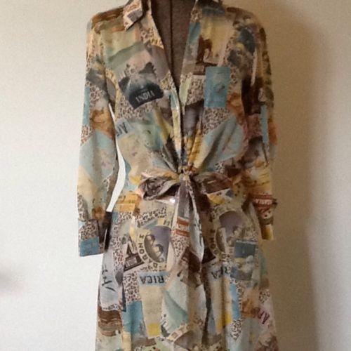 Vintage-Diane-Von-Furstenberg-Cotton-Dress-size-8-To-10