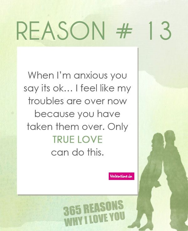 Why I Love You Quotes: Reasons Why I Love You #13
