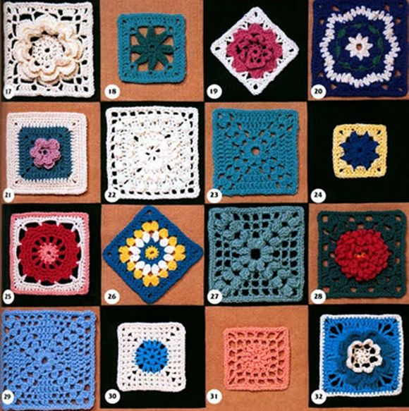 Bellos grannys | Crochet <3 Bellezas | Pinterest | Puntos crochet ...