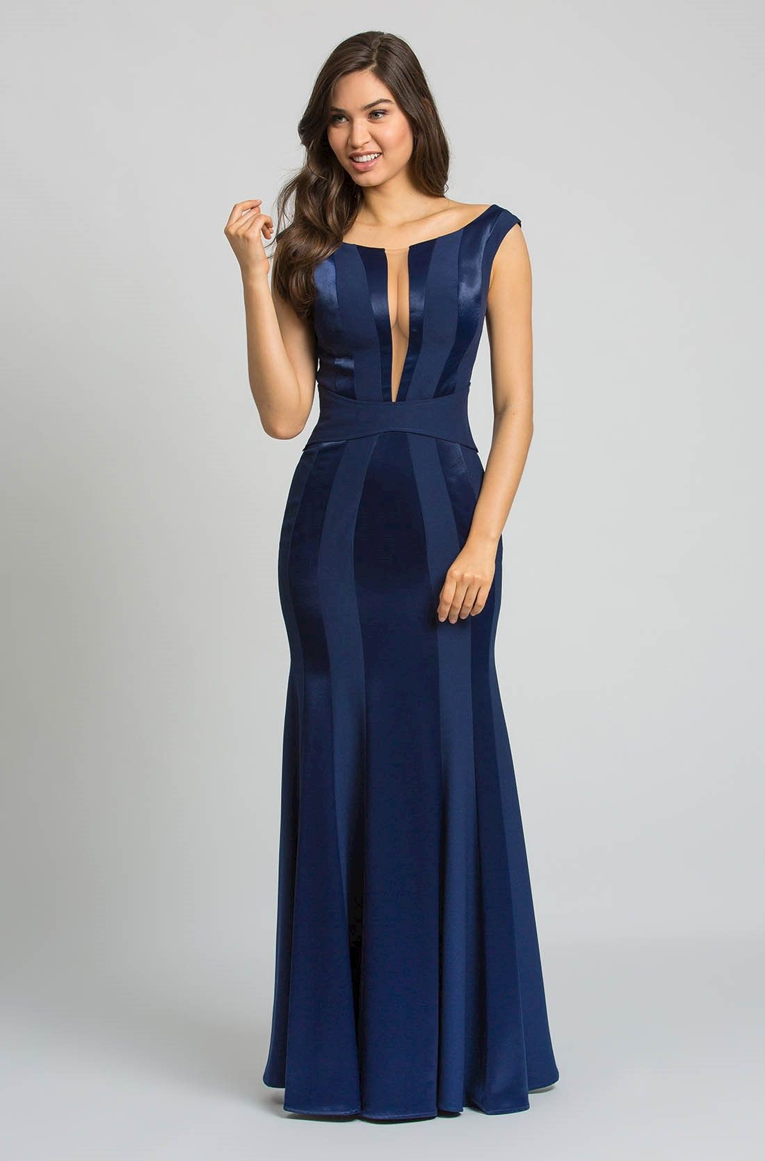 Vestido de formatura longo azul preco
