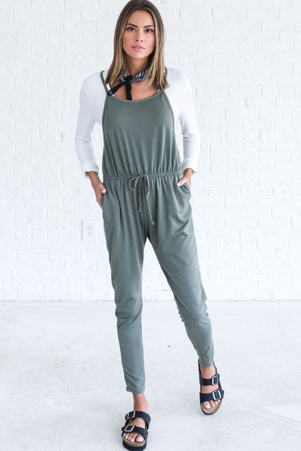 92ad1436415 Prescribed to Be Free Olive Jumpsuit in 2019