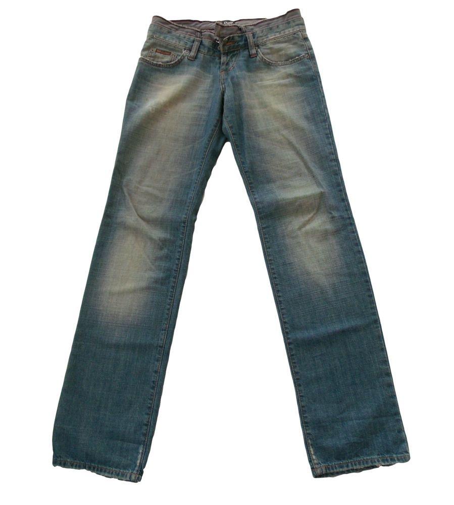 factory price 69e1f 91946 Jeans pantaloni uomo D&G taglia 30 denim worn out style ...