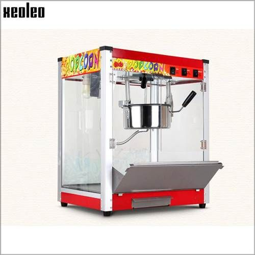 Xeoleo Commercial Popcorn Machine 8oz Commercial Popcorn Machine
