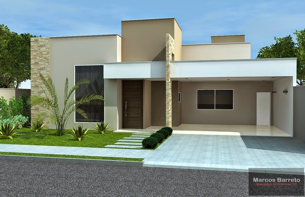 Casa 2 fachadas casas modernas fachadas de casas for Casas modernas imagenes y planos