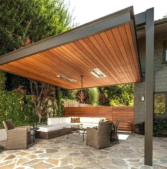 Pergola Extension Ideas: Image Result For Flat Roof Extension