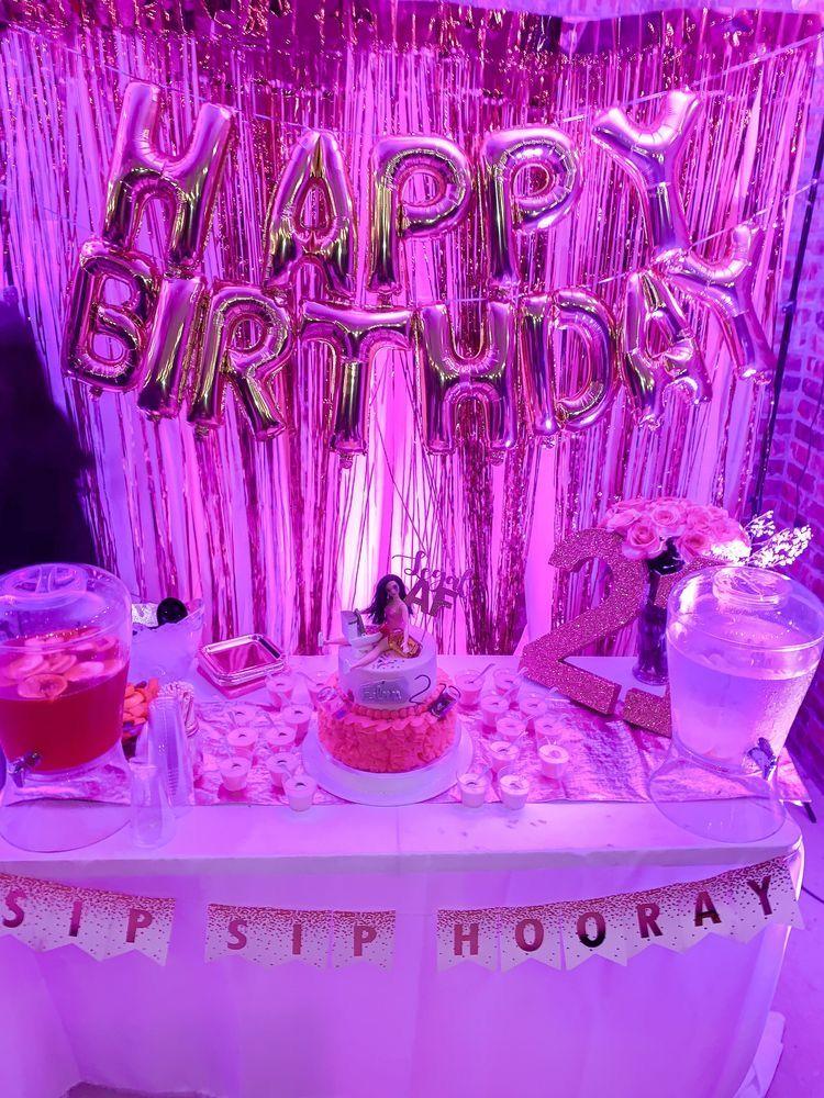 Alondraxjocleyn 21st birthday decorations birthday