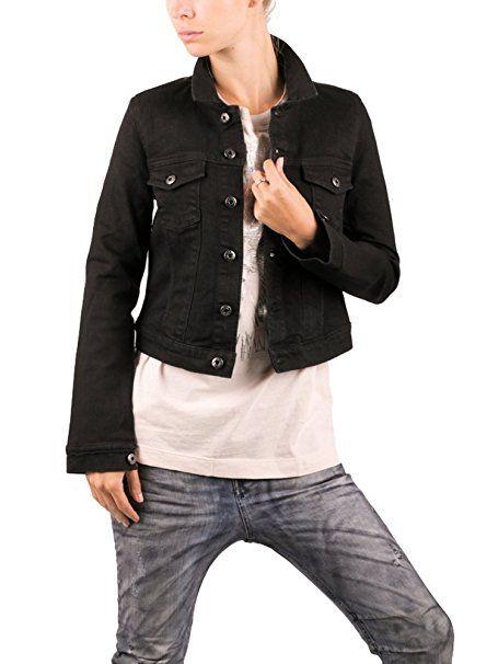 Replay jeansjacke schwarz
