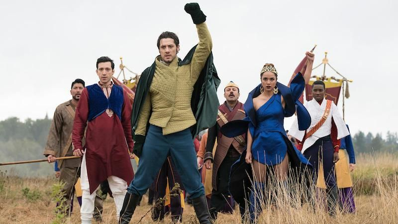 """Previously on The Magicians: Everything is terrible. Currently on The Magicians: Everything is still—or possibly more—terrible, but at least we can burst into song! """"Lesser Evils"""" is an hour of hea…"""