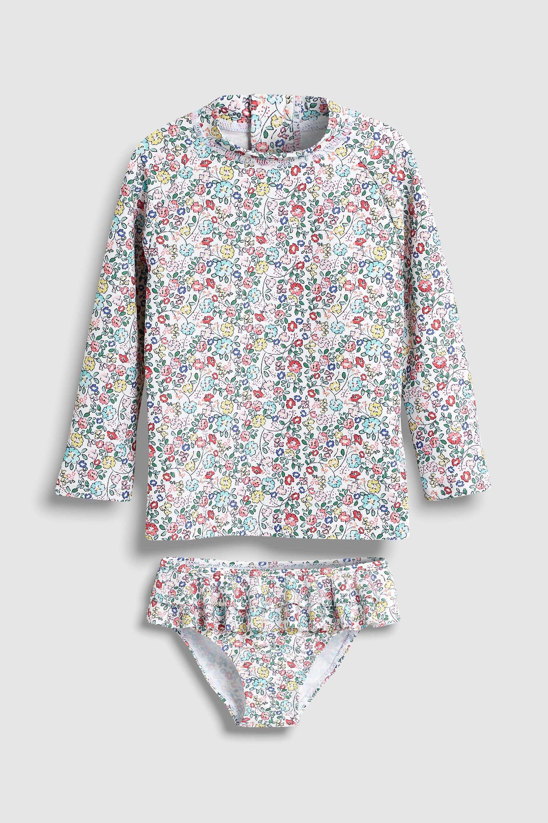 659632b9a3b ... UK online shop. Younger Girls Next Peppa Pig Peppapig. Girls Next  Floral 2 Piece Long Sleeve Sunsafe Set (3mths-7yrs) - Pink
