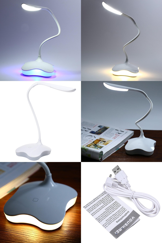 visit to 5v usb book light rechargeable led desk lamp eye