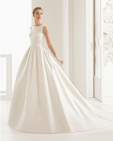 la moda me enamora : 12 vestidos de novia corte princesa para el
