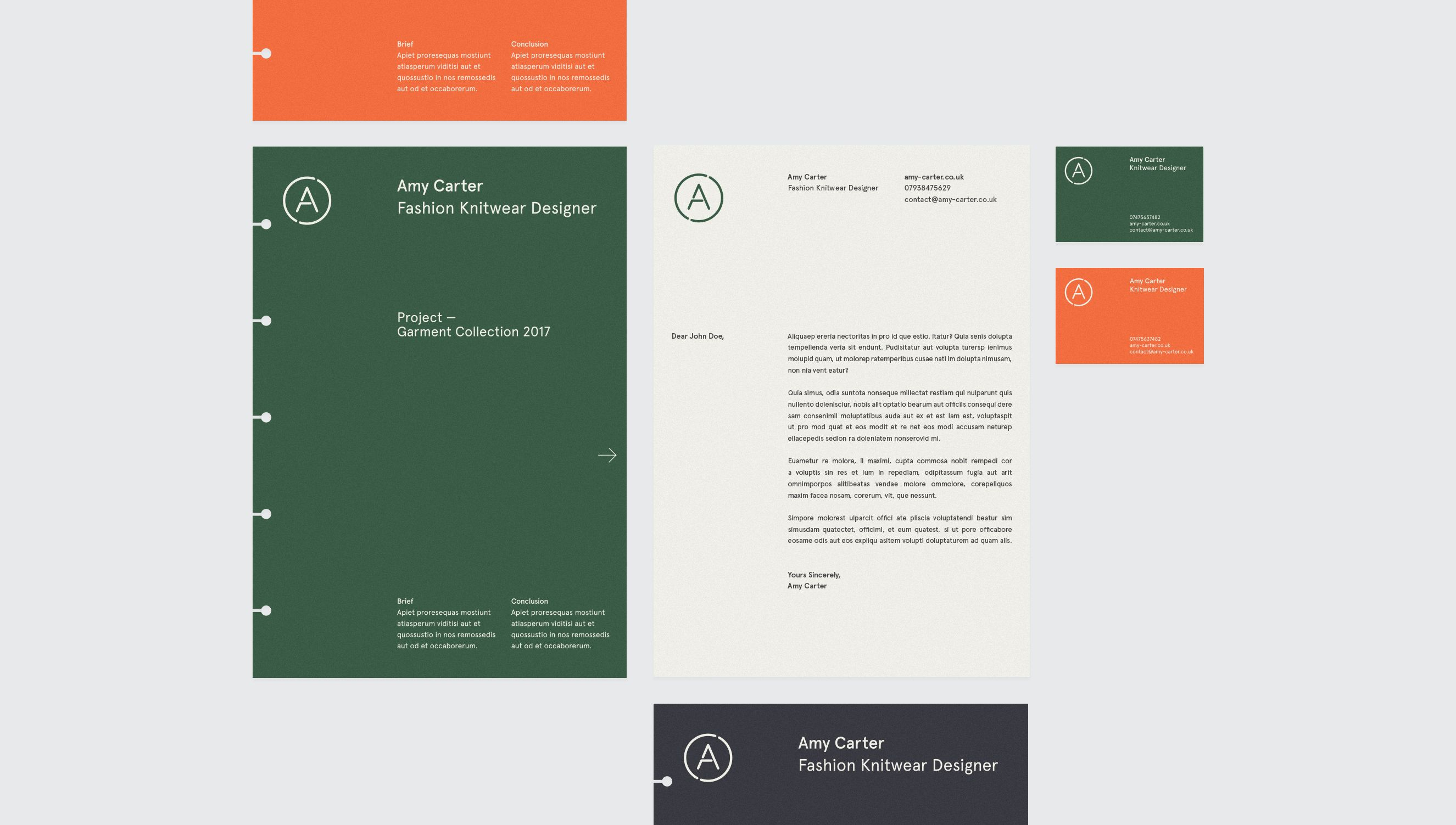 Carter Brand Identity by Sam Hall InspoFinds