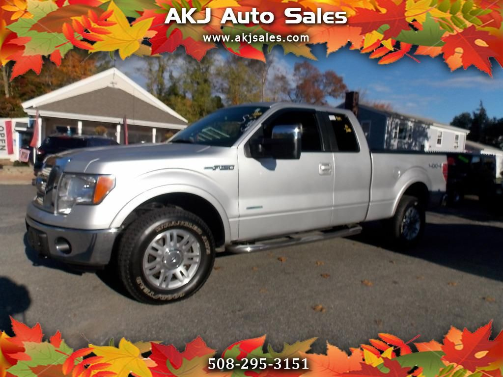 Used 2012 Ford F 150 Lariat Supercab 5 5 Ft Bed 4wd For Sale In