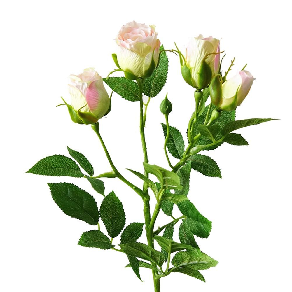 Photo of 1Pc Artificial Flower Rose Garden DIY Stage Party Wedding Holiday Craft Decor – Light Pink