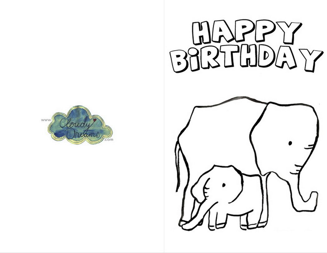Printablebirthdaycardsforcolor coloring pages for free