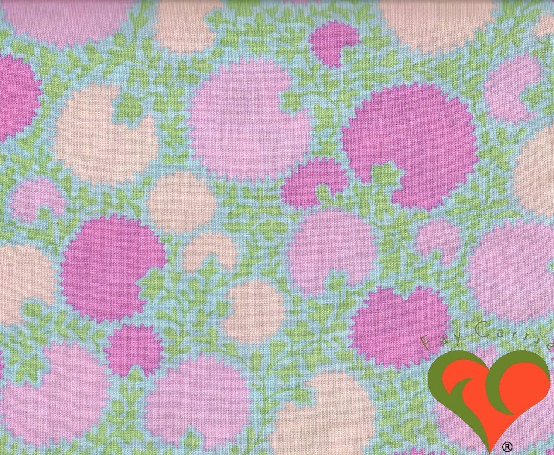 Kaffe Fassett Rare GP66  Pinking Flower Rowan Fabric Fabric OOP Craft Cotton Quilting