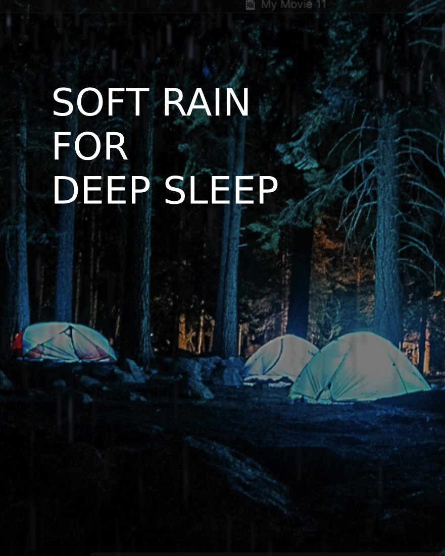Soft Rain for Sleep, the sounds of tropical Bali … | SLEEP