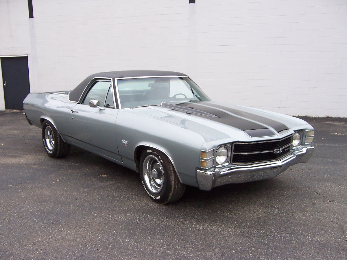 71 el camino ss 454 71 el camino ss 454 silver 276917 bytes hot rods pinterest. Black Bedroom Furniture Sets. Home Design Ideas