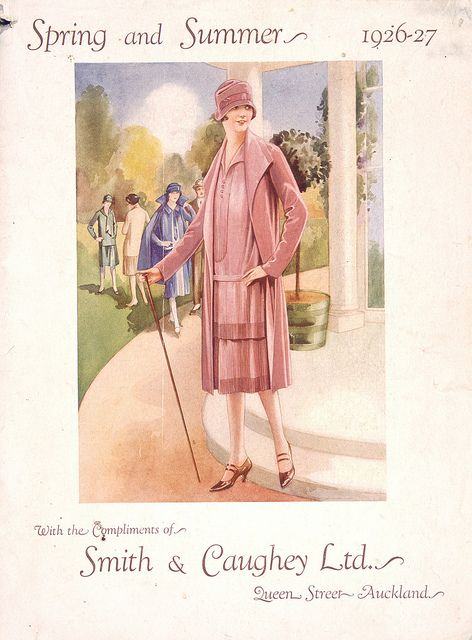 9892e19ed1 Smith   Caughey department store fashions for spring and summer ...