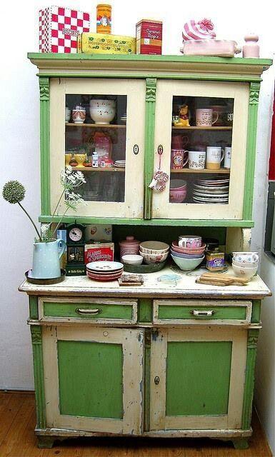 mobili vintage colorati fai da te decorazione casa e
