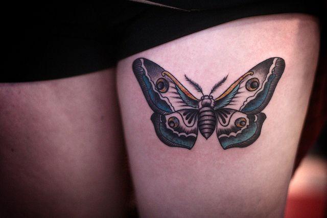 alice carrier | Anatomy tattoo, Moth tattoo and Moth