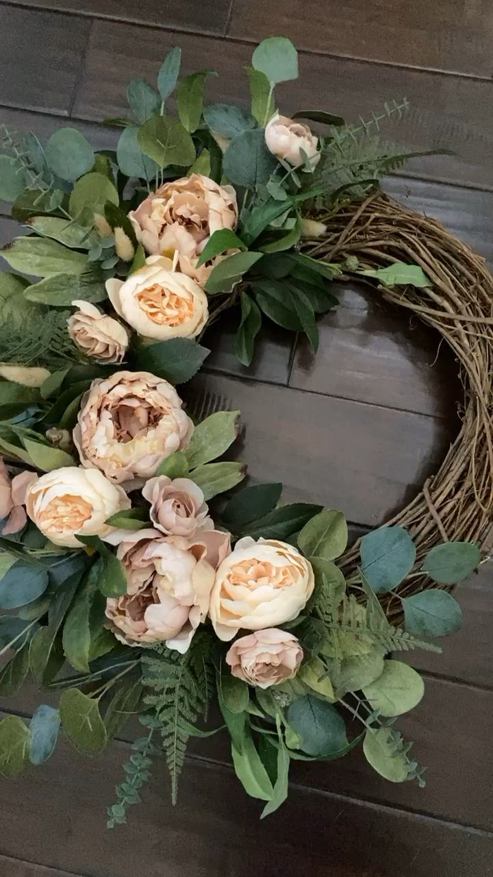 Photo of Peony wreath