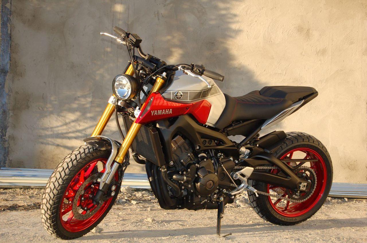 Moto yamaha scrambler cars motorcycles bobber forward mt09 yamaha - Yamaha Mt 09 Bloody Mary By Liberty Yam