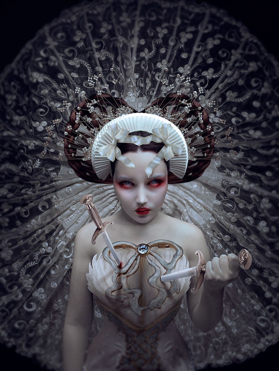 """Ritual"" —Photographer/Model: Natalie Shau"