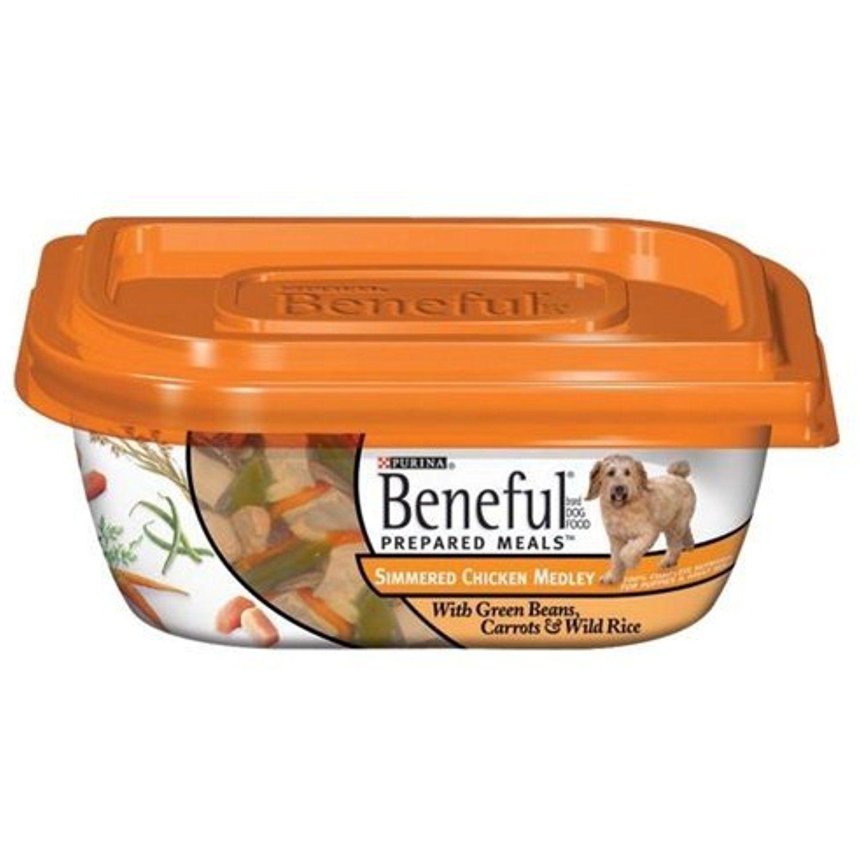 Beneful Dog Food Simmered Chicken Medley 10 Oz Pack Of 16 For