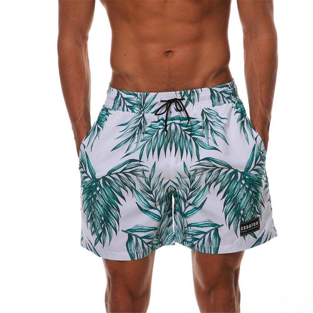 e342389c85b02 Rave Shorts Men's EDC Beachwear Quick Dry Rave Wear with Pockets EDM Board  Shorts (10+ Colors)