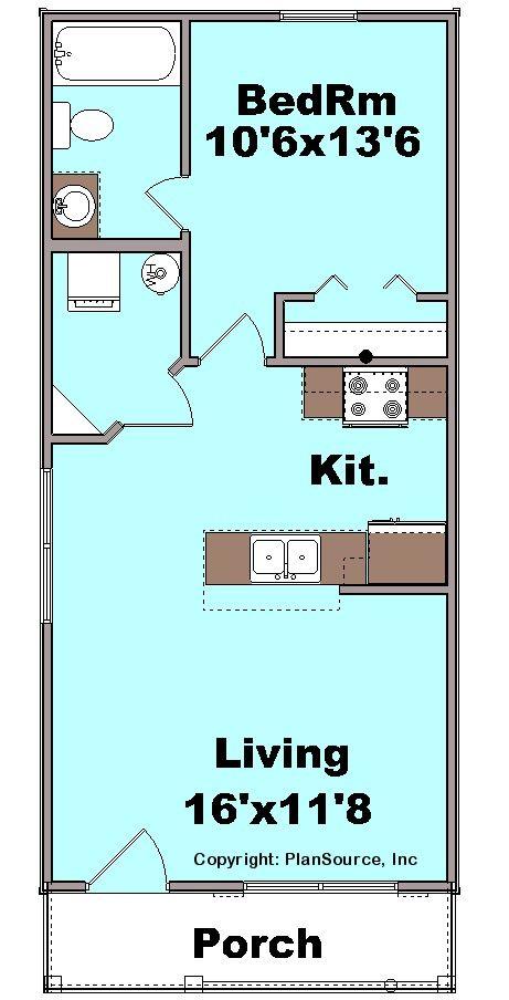 Cottage plan C1103 11