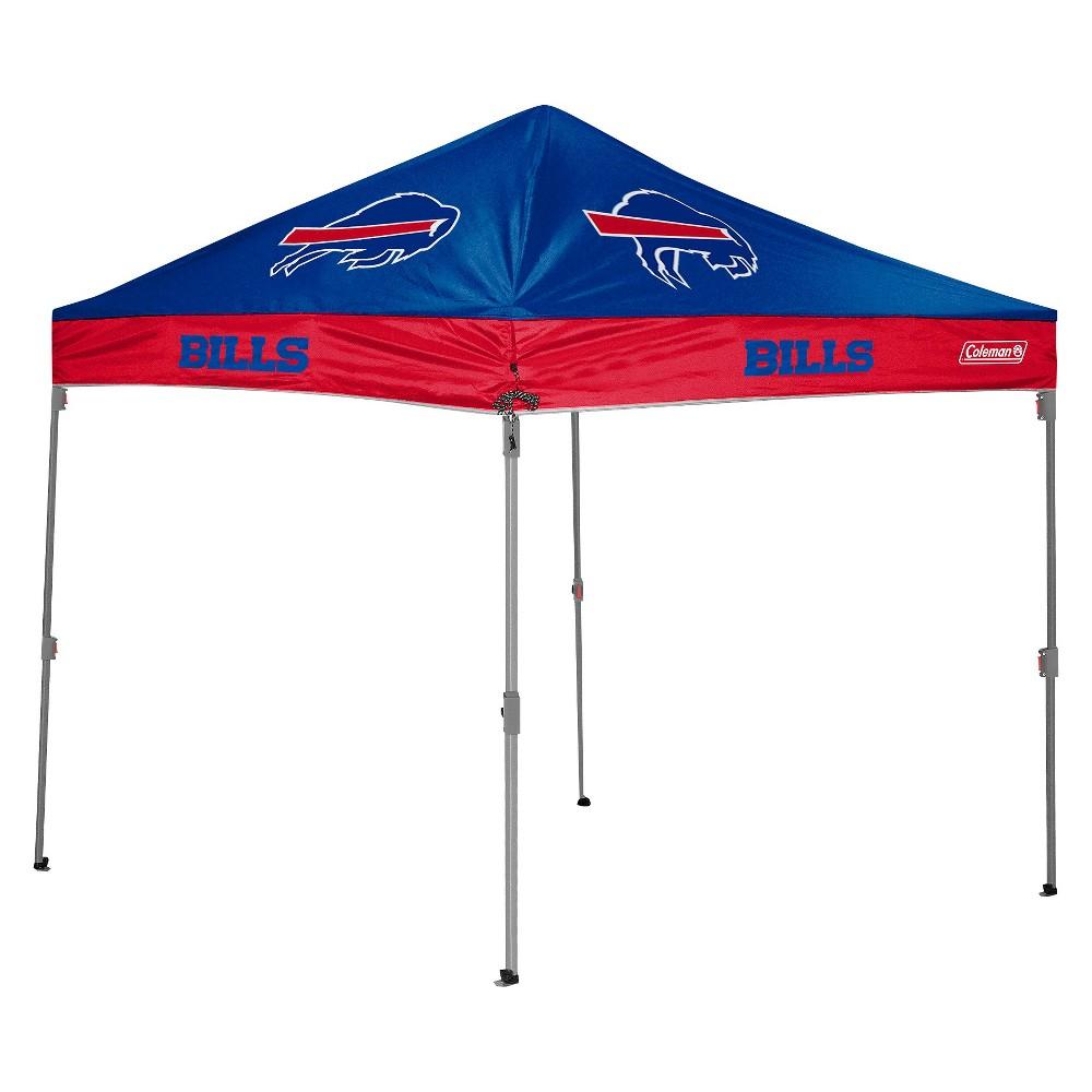 Nfl Coleman 10x10 Ft Straight Leg Canopy Tent Buffalo