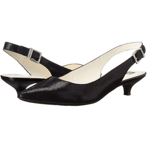 Anne Klein Expert Women's 1-2 inch heel Shoes, Black ($51 ...