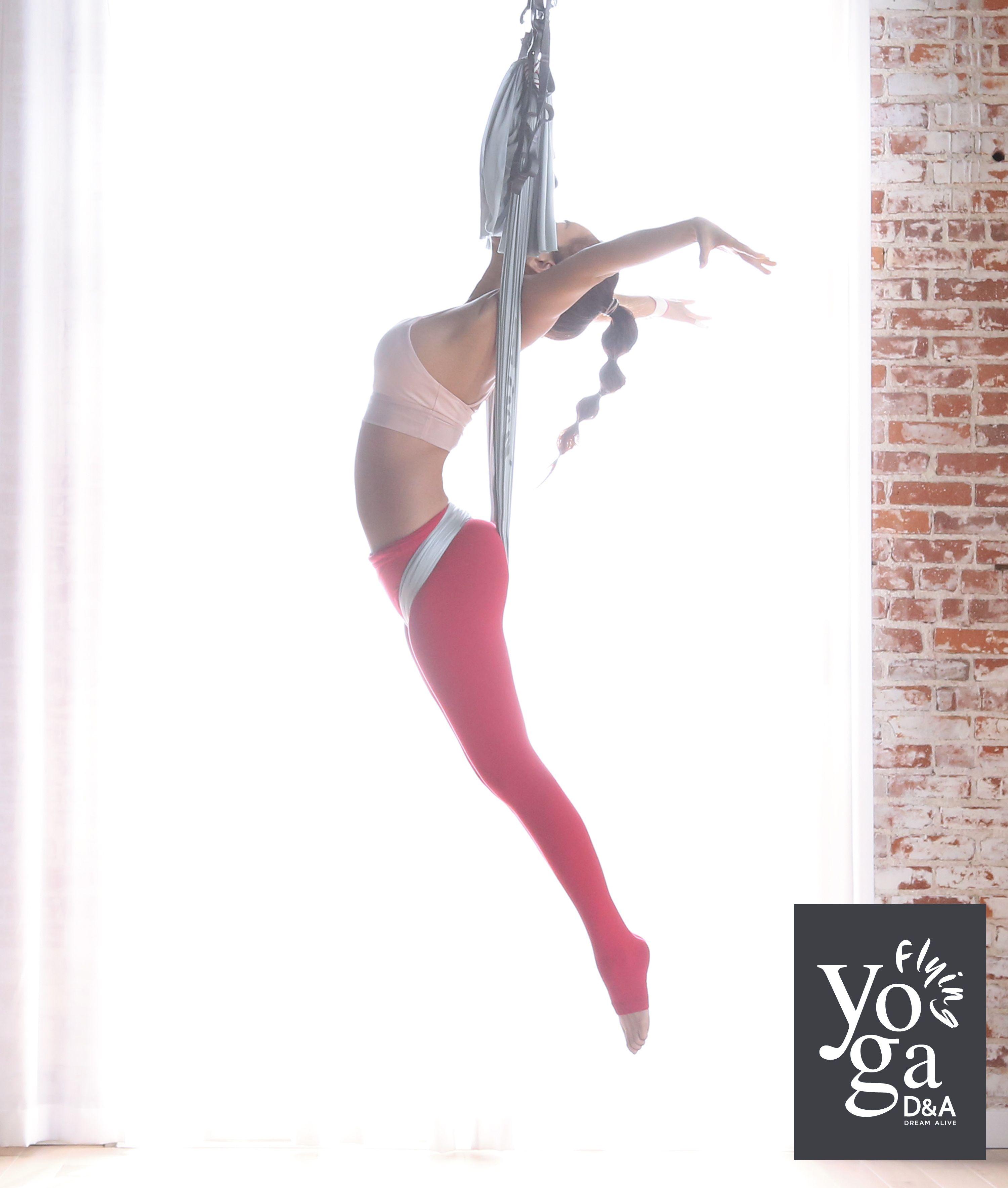 Flying Up Danda Flying Yoga D A Flying Yoga Aerial Yoga Aerial Yoga Flying Yoga Yoga Trapeze Poses