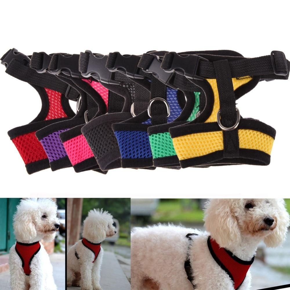 Adjustable Comfort Soft Breathable Dog Harness In 2019 Dablew11