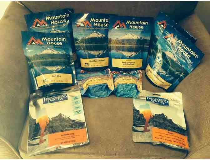 Gourmet Backpacking Food Pack - Mountain House and Backpacker's Pantry