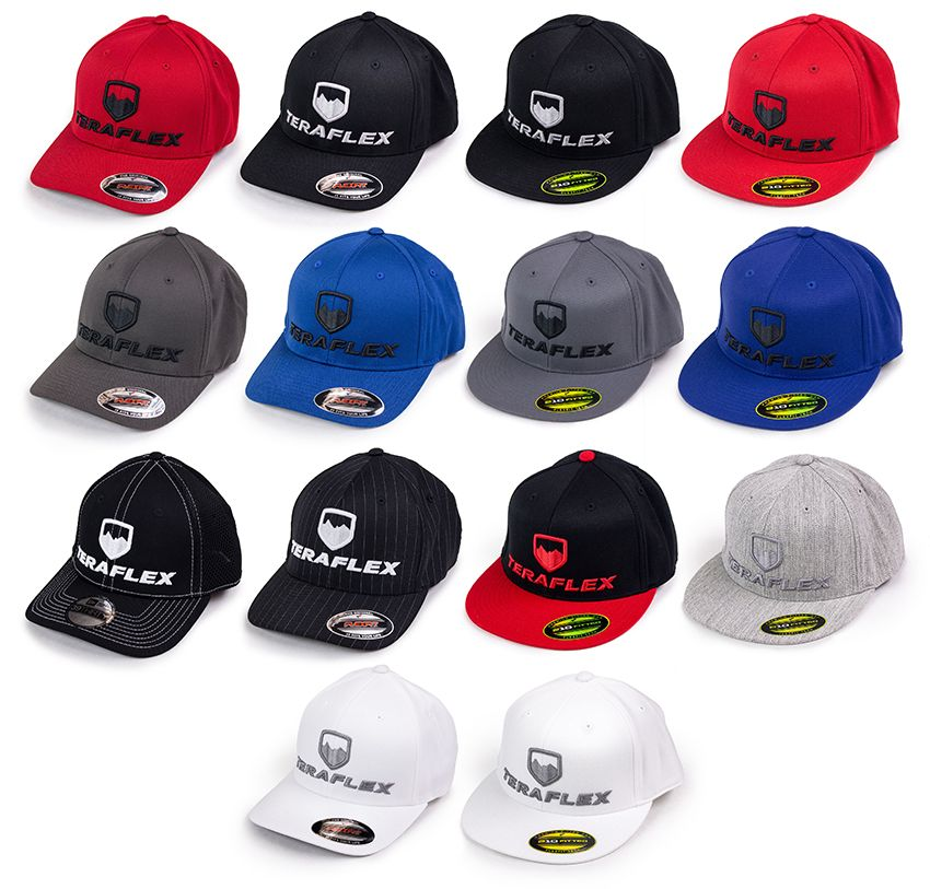 d313cd51678 Premium S M   L XL FlexFit Hats - both curved and flat visors ...