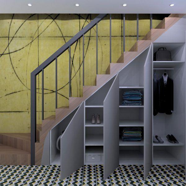 Rangement Sous Escalier Nantes L Interieur Architecte D Interieur En 2020 Rangement Sous Escalier Meuble Sous Escalier Dressing Sous Escalier