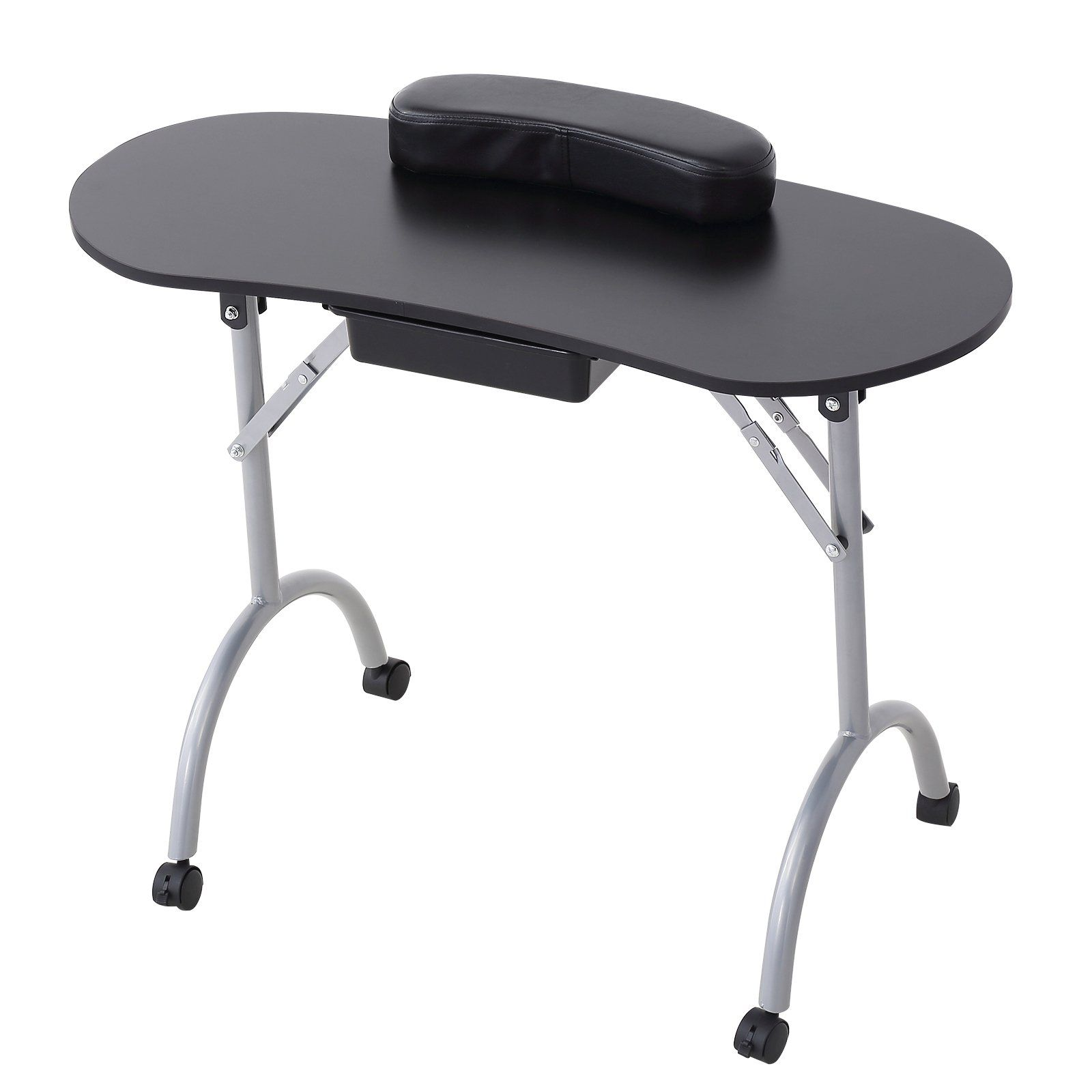 Murtisol Portable Nail Table Foldable Manicure Table