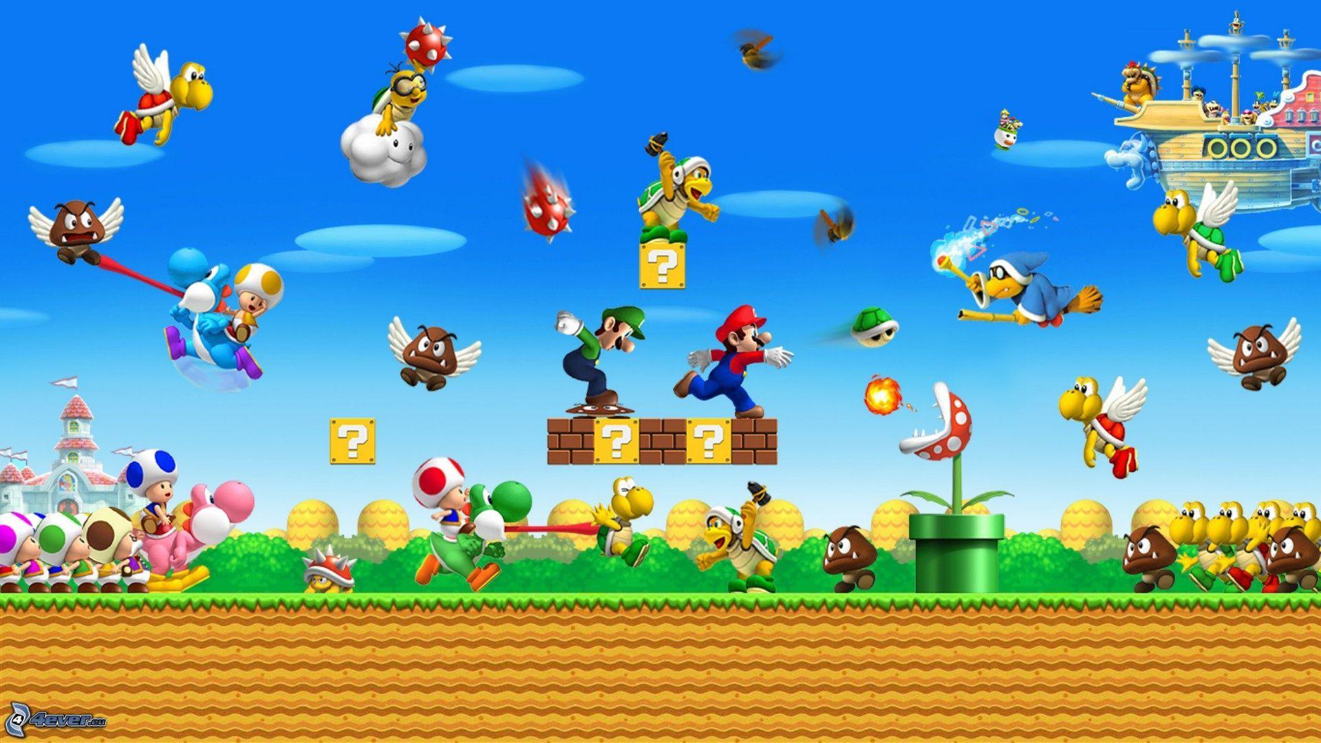 supermario Super mario bros, Mario und luigi