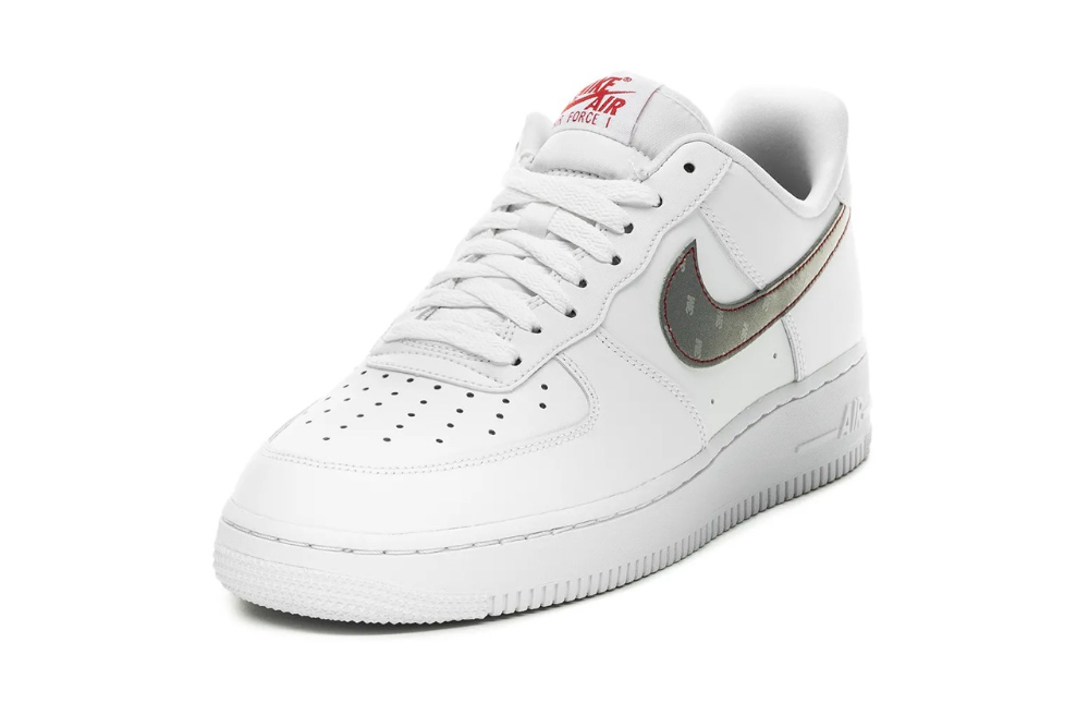Nike S Air Force 1 Receives Bright 3m Makeover Nike Air Force Nike Air Nike Air Force Sneaker
