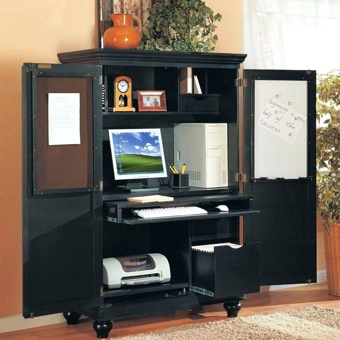 Office Armoire Ikea corner computer armoire with doors plans ikea alve